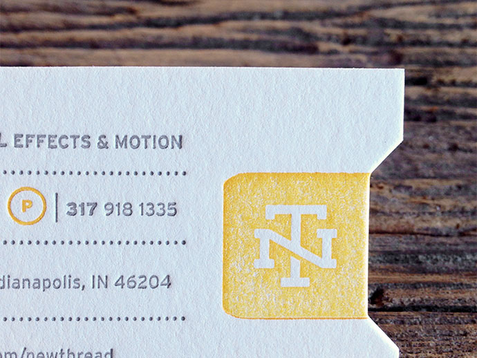 New Thread Films—Business Card