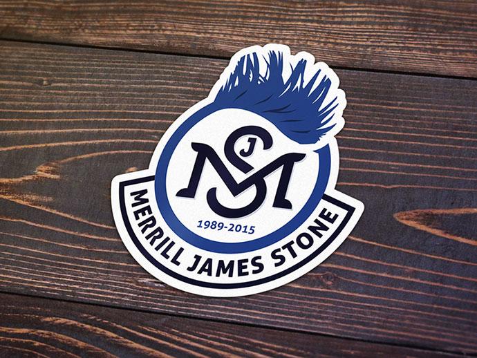 Merrill Stone Memorial Sticker