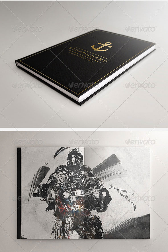 Book and Notebook Elegant Mock-ups