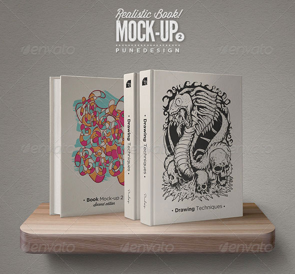 Book Mock-Up Set - 2