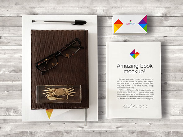 Book And Business Card 2
