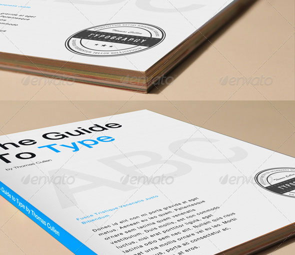 4 Book Cover Mockups