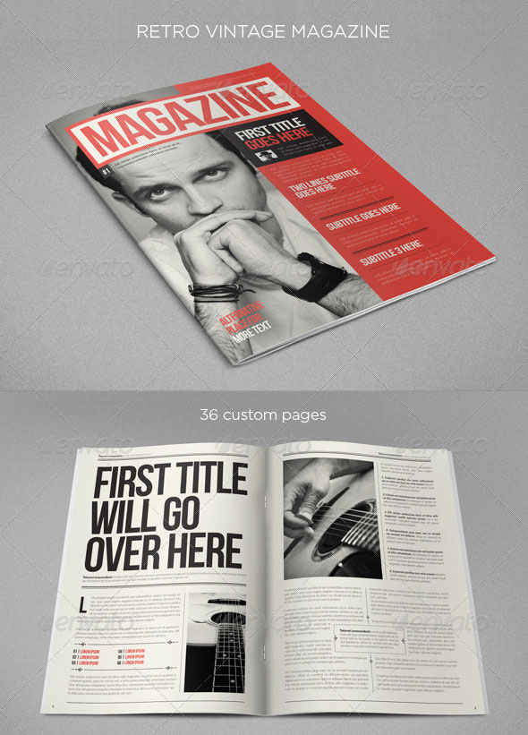 Retro Vintage Magazine