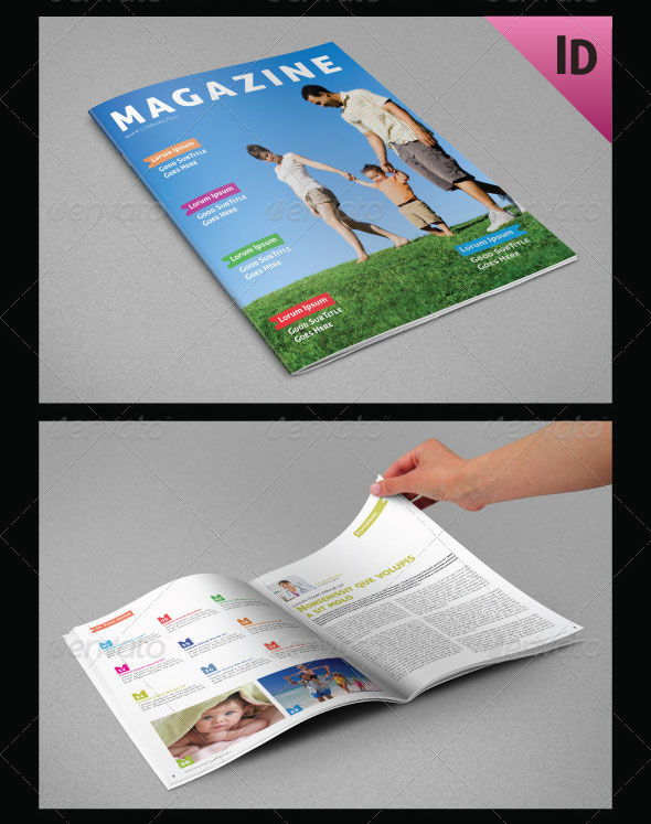 Multipurpose Magazine Template Vol.3