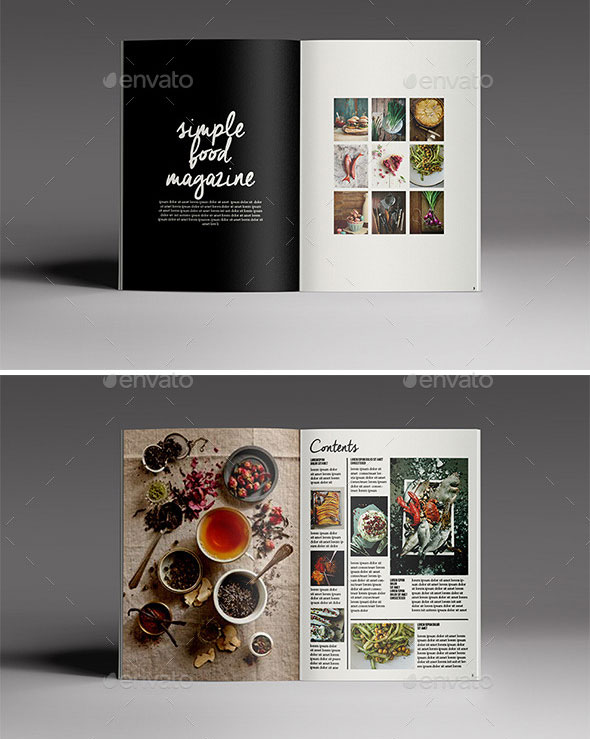 44 Stunning Magazine Templates For Indesign Photoshop Bashooka