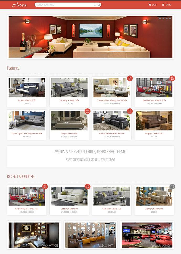 Avenia - Responsive Shopify Theme