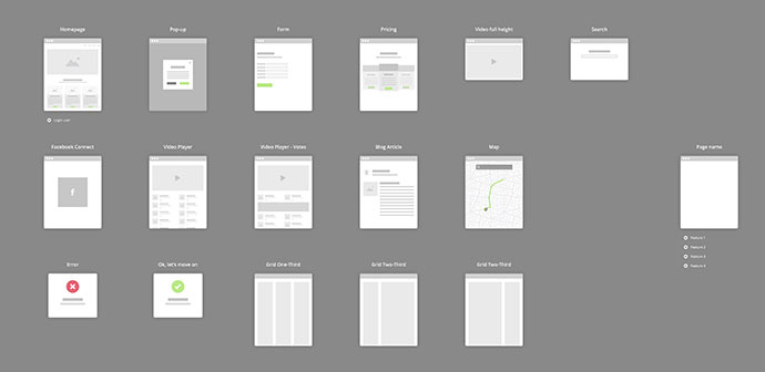 [FREEBIE] Flowchart Kit for Sketch