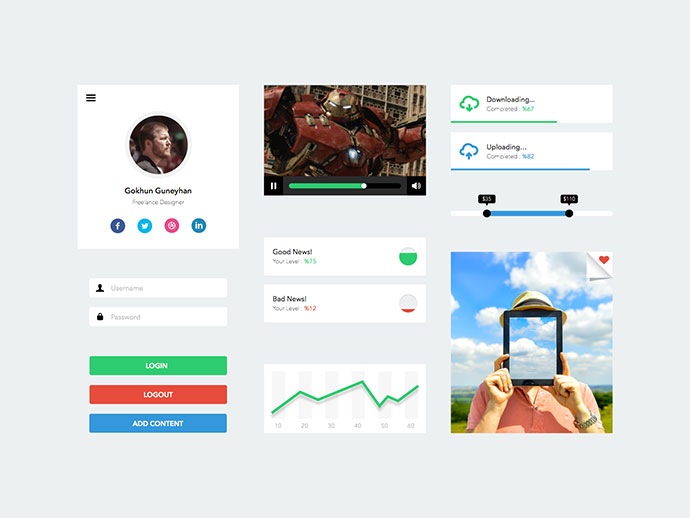 UI Kit / Sketch