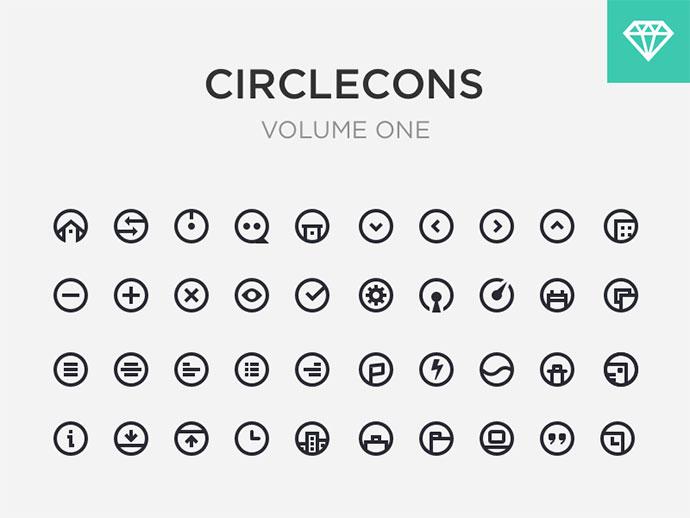 Circlecons Vol1 Sketch Download
