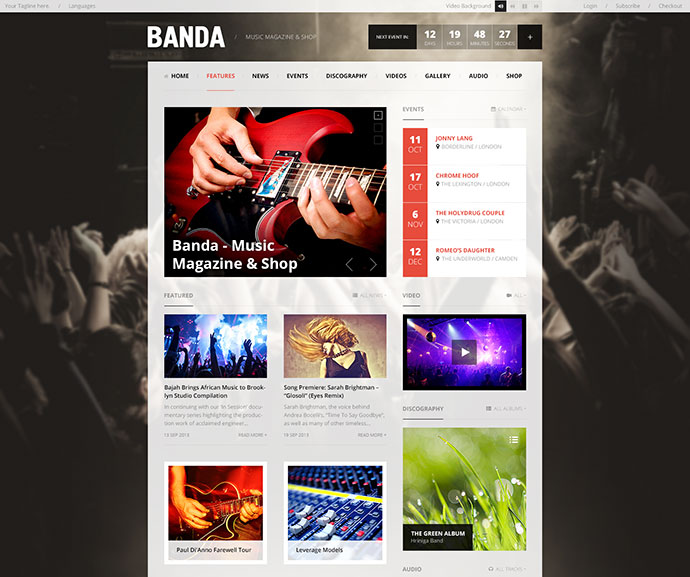 Banda - WordPress Music Magazine
