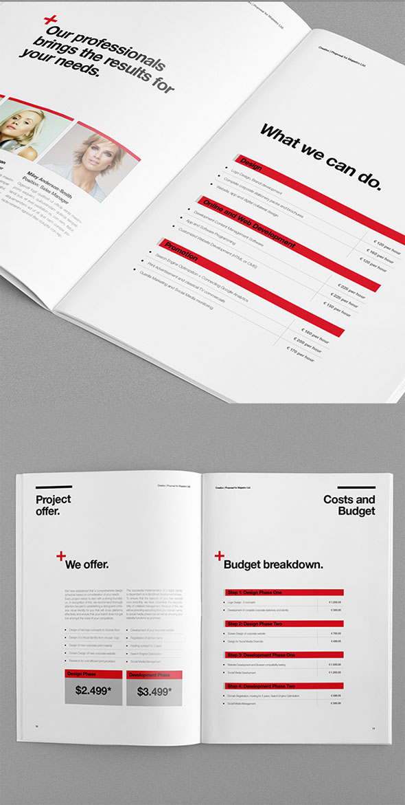 20 Proposal Templates For Web Design Project | Web & Graphic