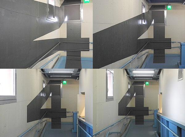 SPD / anamorphic wayfinding system
