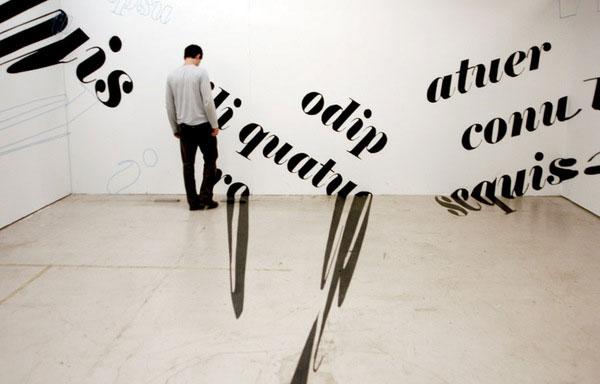 Typographic Installations