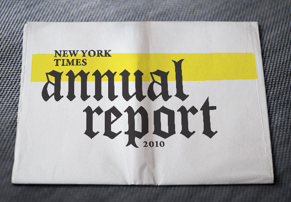 The New York Times Annual Report