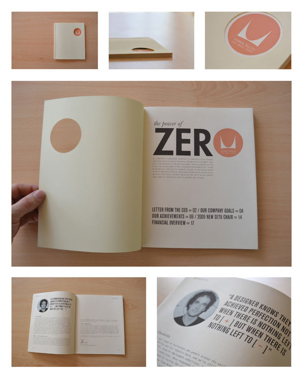 Herman Miller Mock Annual Report