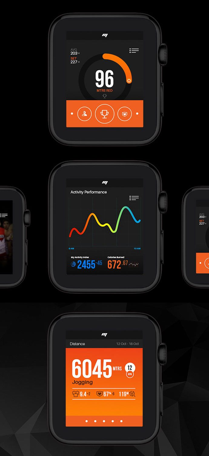 Apple Watch App for Sports Performance - MOTION
