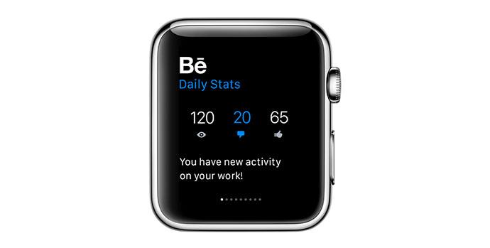 Behance for Apple Watch