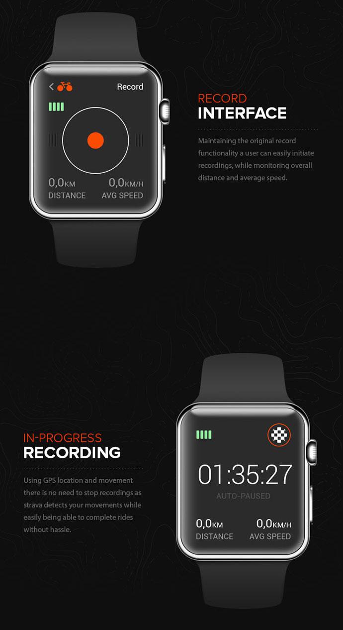 Strava for Apple Watch