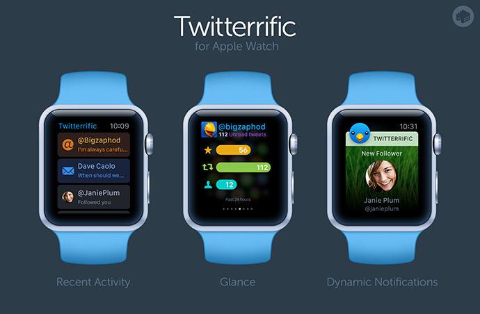 Twitterrific for Apple Watch