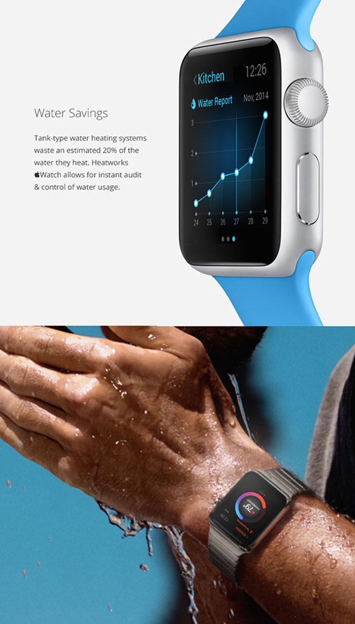 Heatworks Apple Watch App