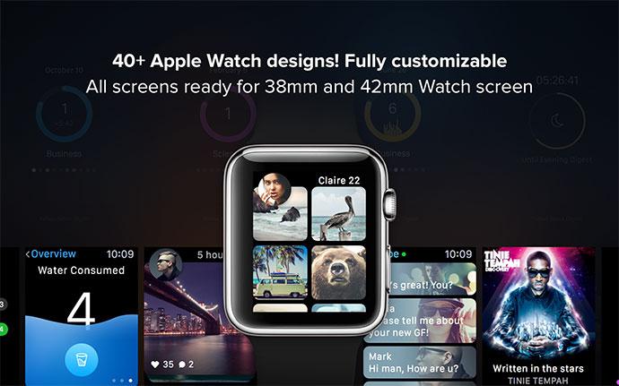 Apple Watch Concept GUI v2.0