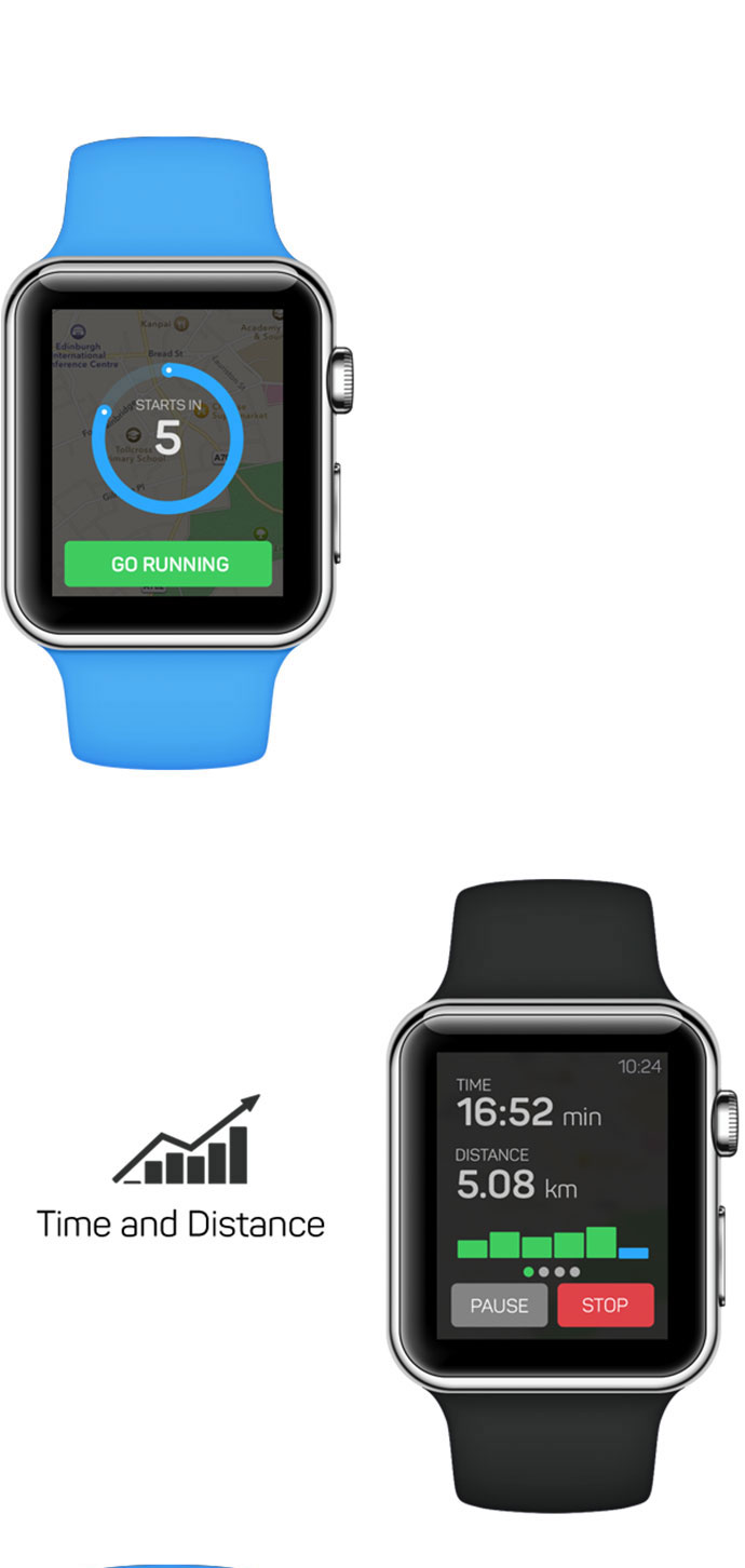 RunKeeper for Apple Watch