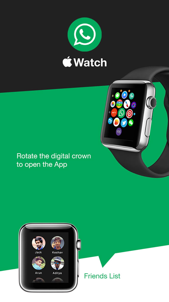 Whatsapp - Apple watch