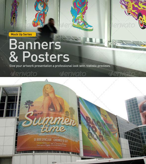 Banner | Poster Mock-Up