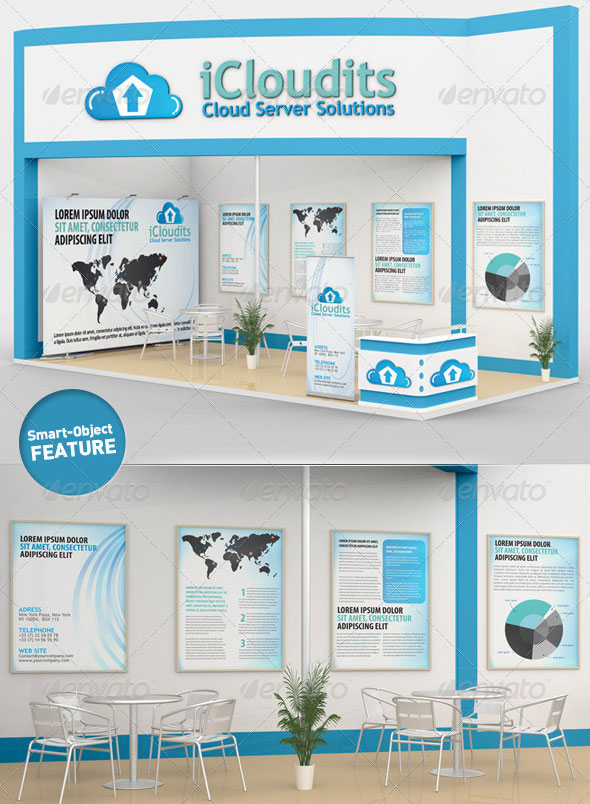 Exhibition Stand Design Mockup