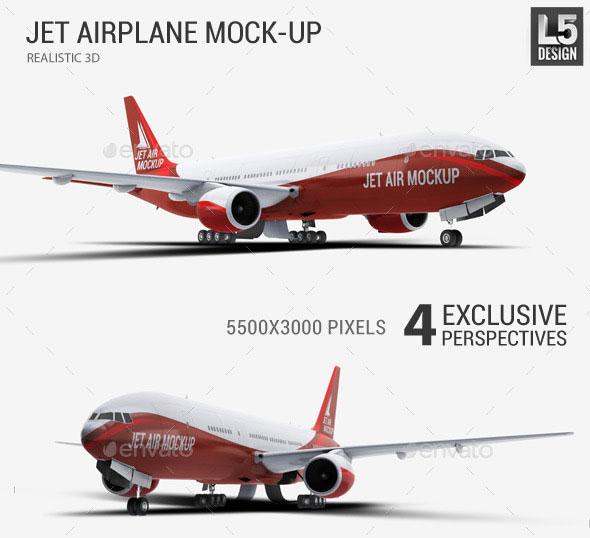 JetAirplaneMock-Up