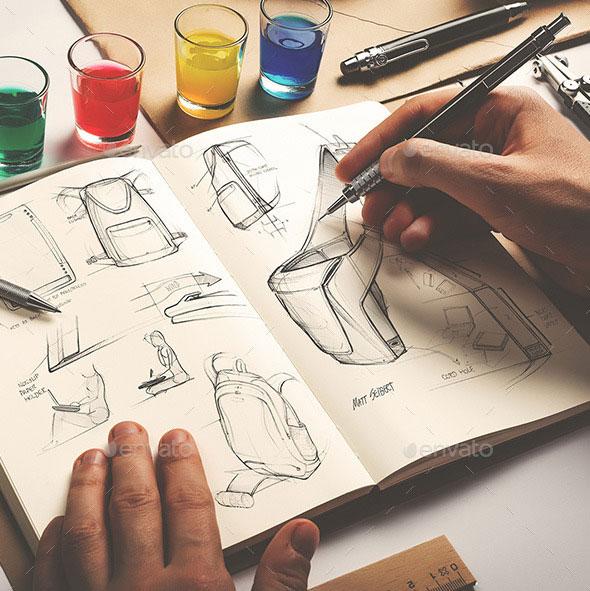 SketchbookMock-Up/ArtistsEdition