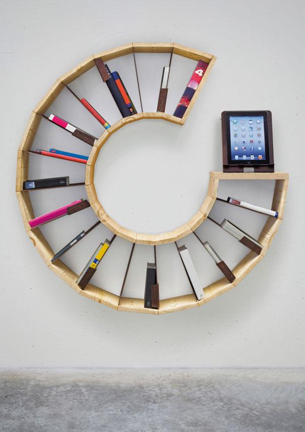modular&multimedia bookshelf