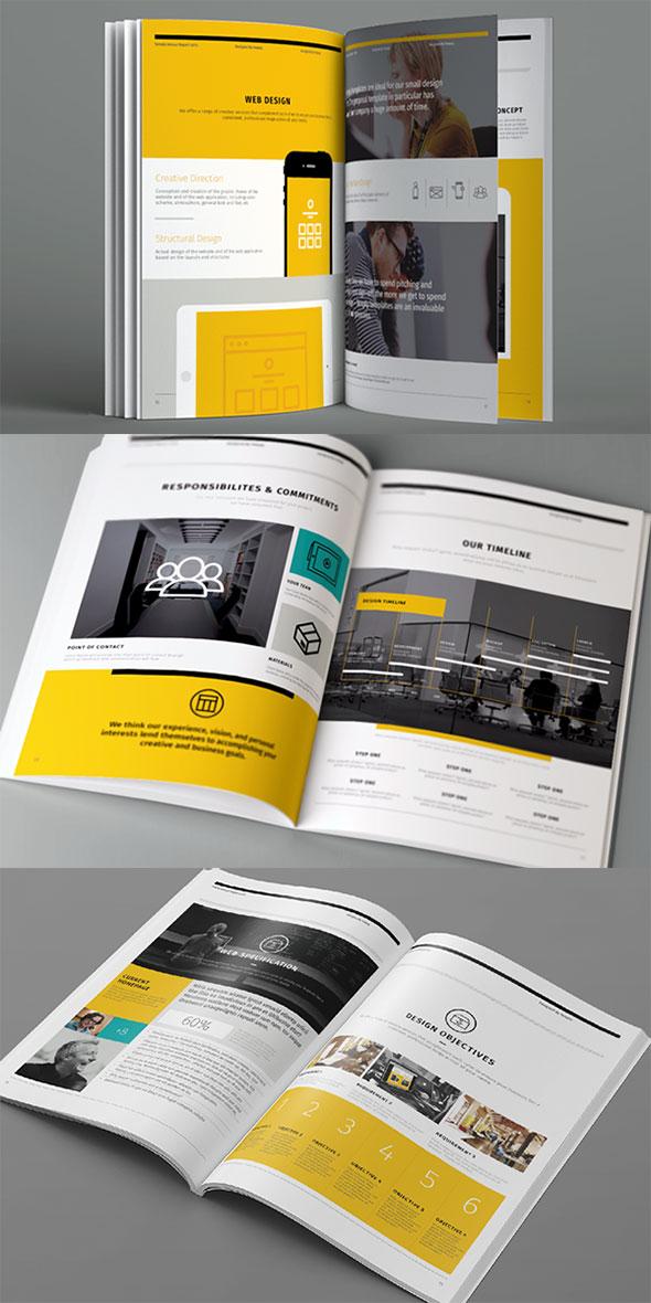 Design Proposal | 20 Proposal Templates For Web Design Project Bashooka