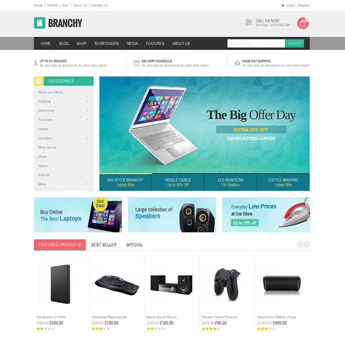 Branchy - WooCommerce Responsive Theme