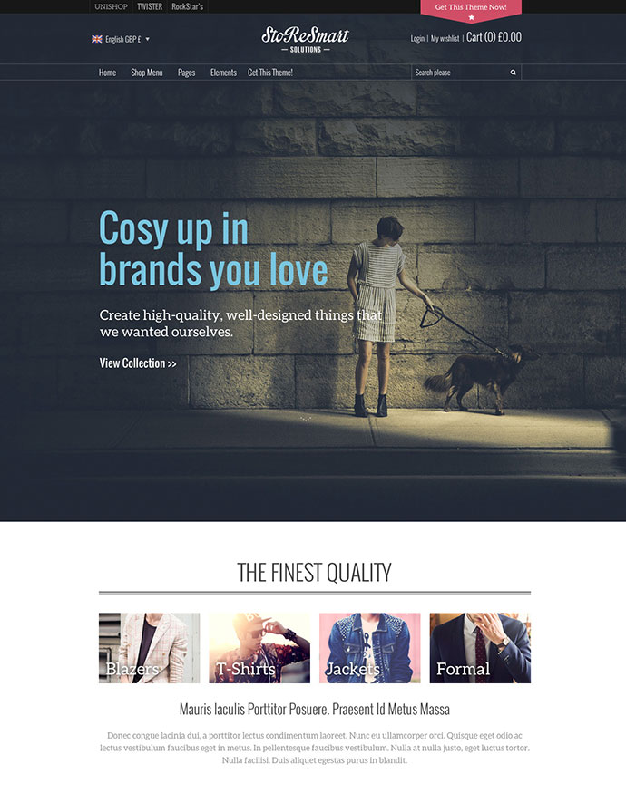 StoReSmart | Multipurpose Ecommerce Theme