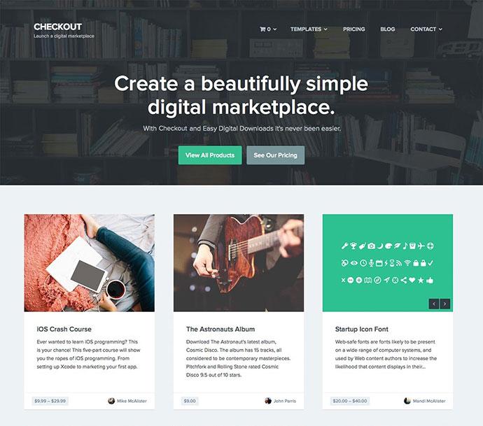 Checkout - WordPress eCommerce Theme