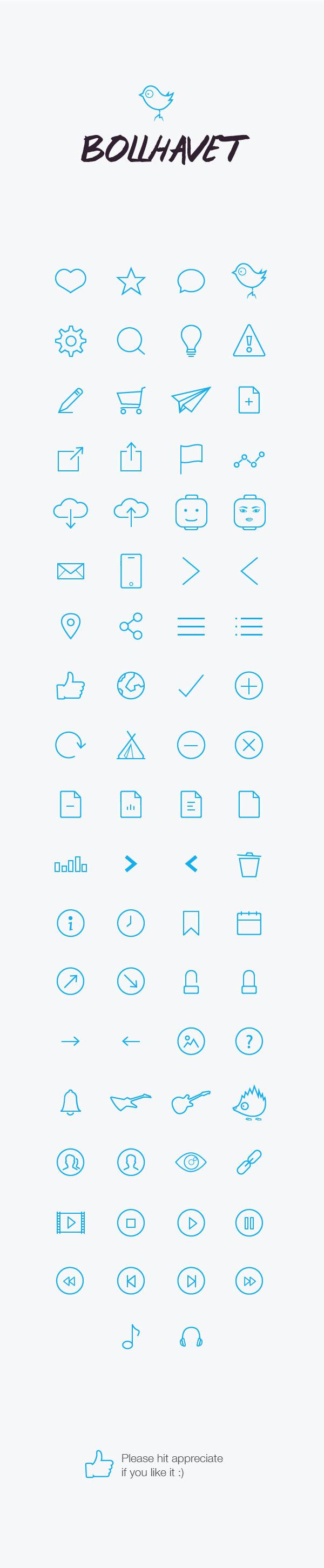 Bollhavet 74 Free Flat Icon v2