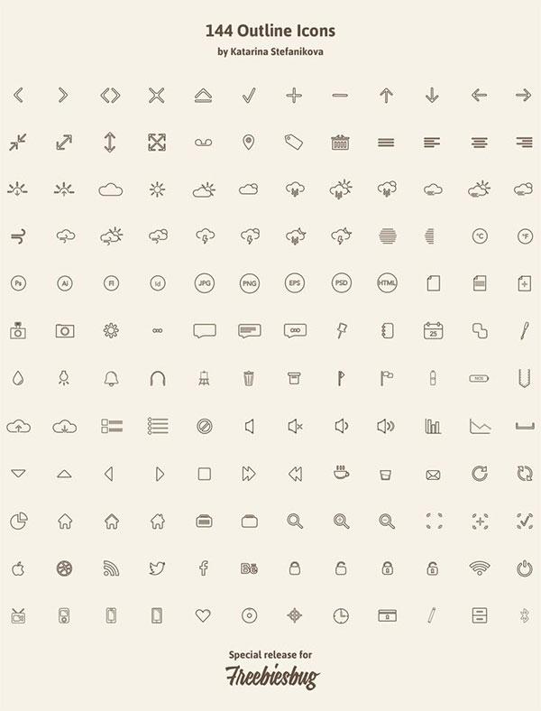 icons PSD AI