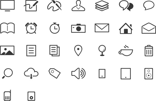 Othericons Free Outline Icons