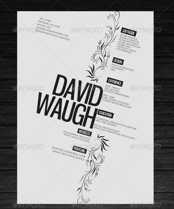 25 psd resume templates that will make recruiters  u0026quot want