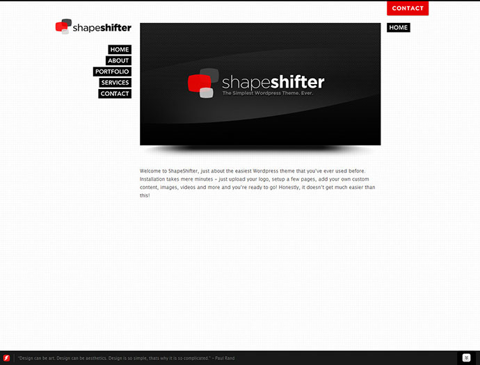ShapeShifter - One Page, Infinite Possibilities.