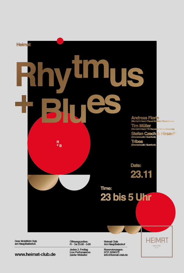 29 Amazing Use Of Swiss Style In Poster Design Bashooka