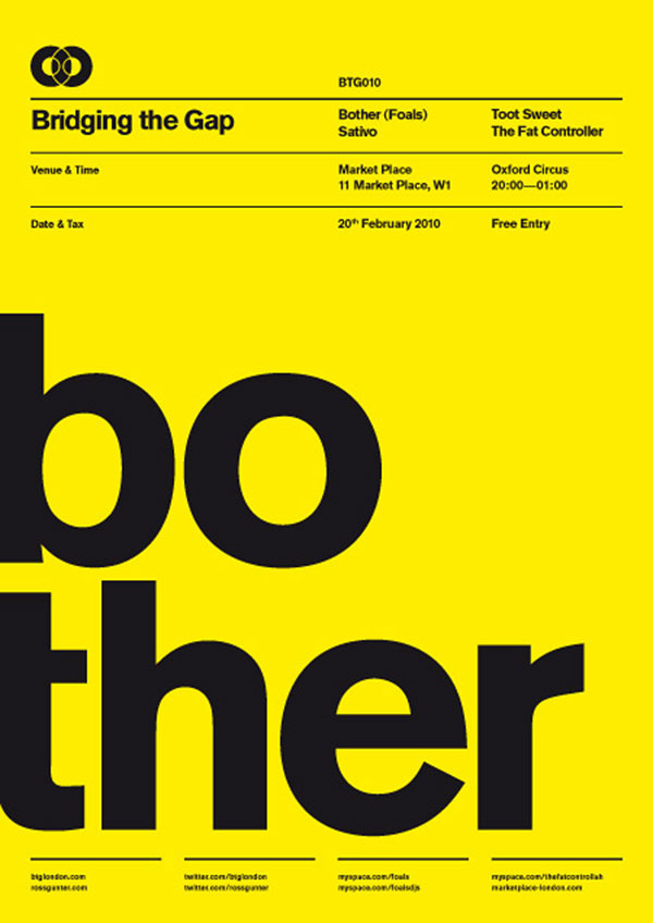 29 Amazing Use Of Swiss Style In Poster Design Web