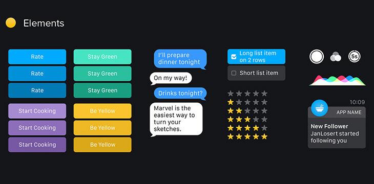 35 Apple Watch UI Design Concepts & Free Resources – Bashooka