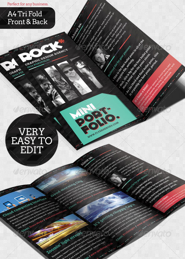 34 Super Awesome Psd Brochure Design Templates Web Graphic