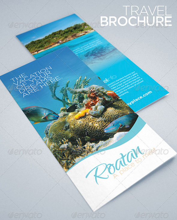Travel & Tourism Brochure, ideal for hotels, travel agencies