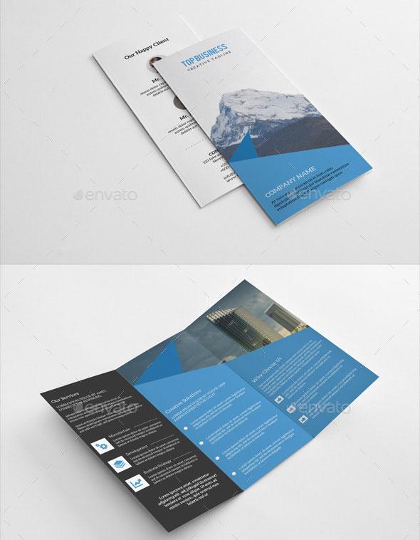 Business Trifold Brochure-V237