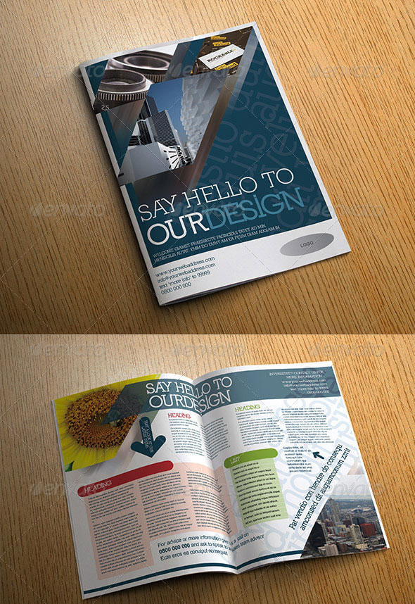 4 Page Corporate Brochure