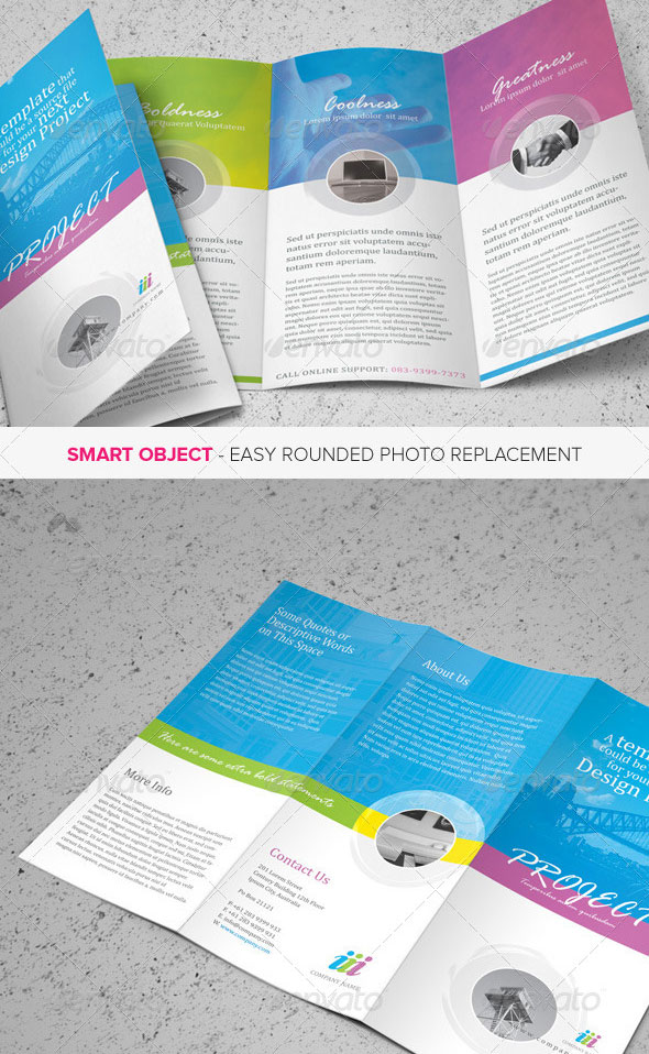 Super Awesome Psd Brochure Design Templates  Web  Graphic