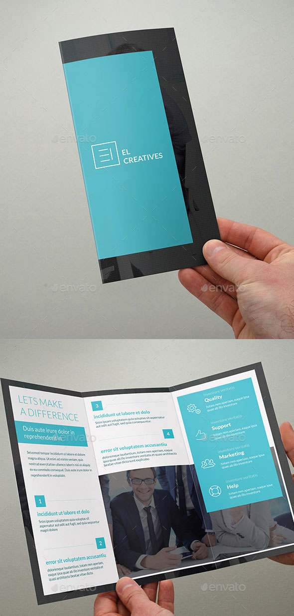 Corporate Trifold Business Brochure - 04